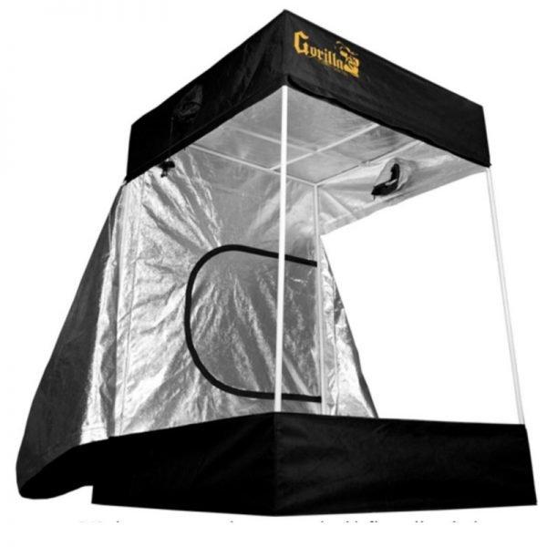 Gorilla Grow Tent 5x5 360 degree view