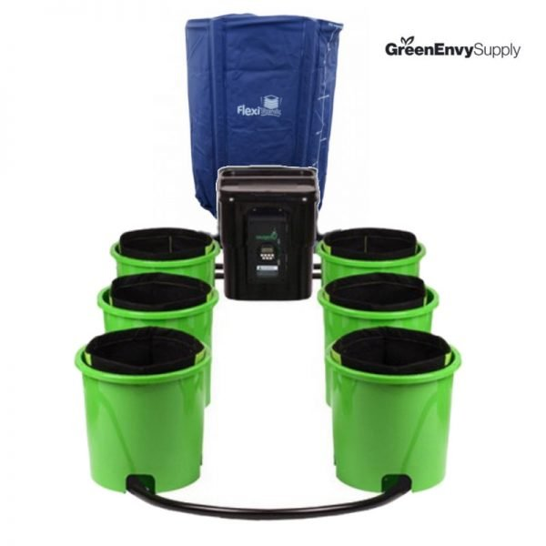 Oxygen Pot 6 Site Super Flow Bucket System