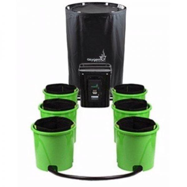Oxygen Pot System 6 Site Analog