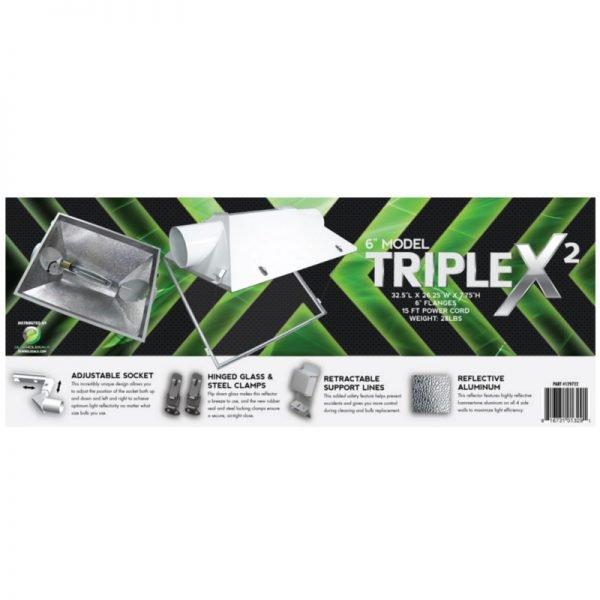 Triple X2 6in Reflector