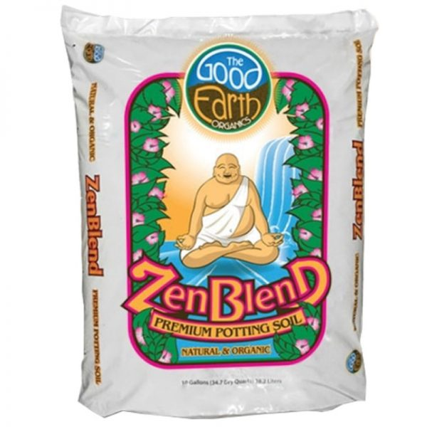 zenblend premium potting soil