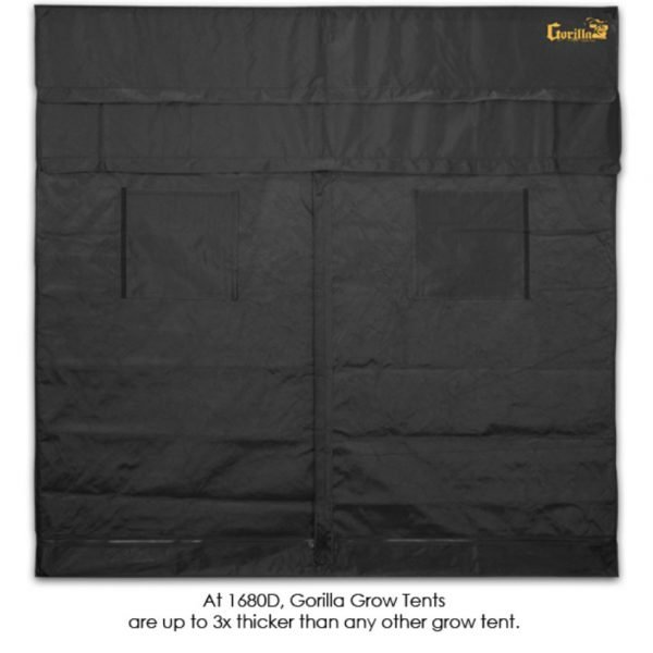 Gorilla-Grow-Tent-4-x-8-Front-View