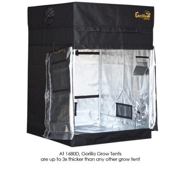 Gorilla-Grow-Tent-Shorty-4x4-Doors