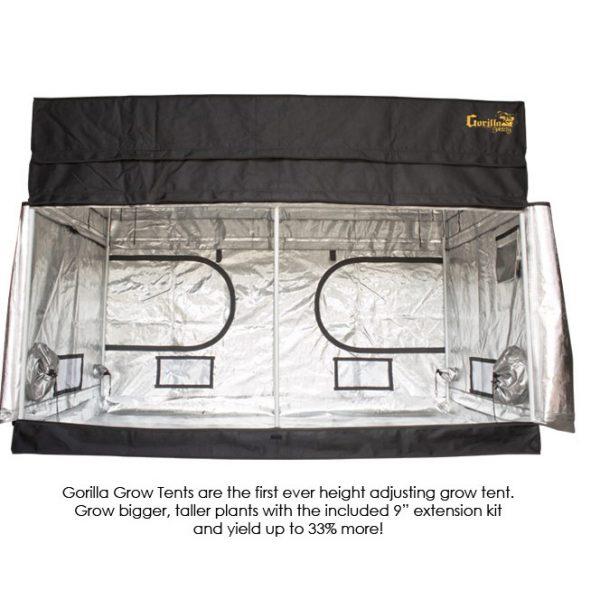 Gorilla-Grow-Tent-Shorty-4x8-Doors