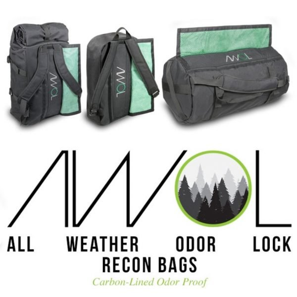 AWOL Smell Proof Bag Lineup