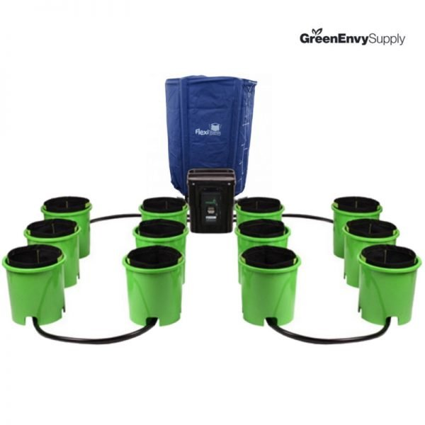Oxygen Pot 12 Site Super Flow Bucket System