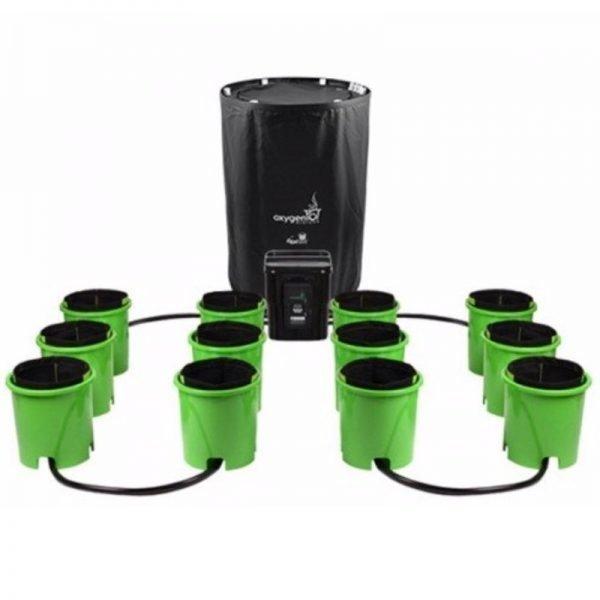 Oxygen Pot System 12 Site Digital