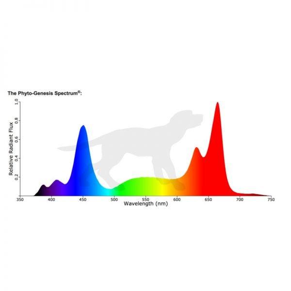 Black Dog LED PhytoMAX 2 Spectrum Output