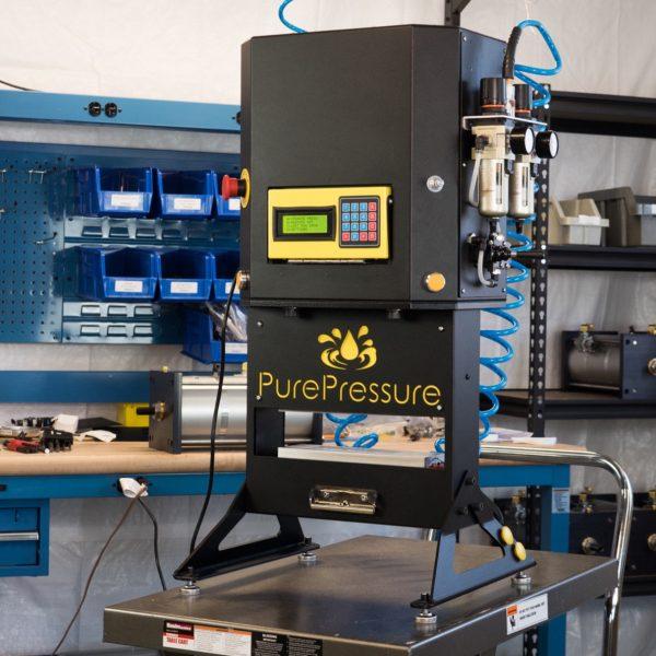 Pure Pressure Pikes Peak Rosin Press