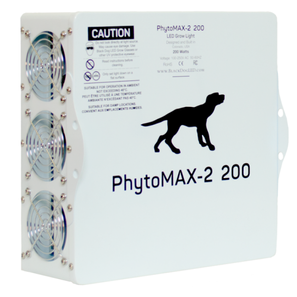 Black Dog LED Phyto Max 2 200 Back side
