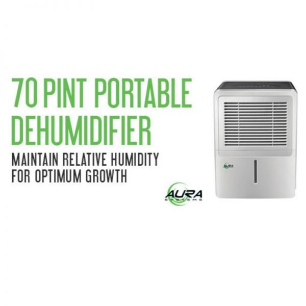 Aura Systems 70 Pint Dehumidifier