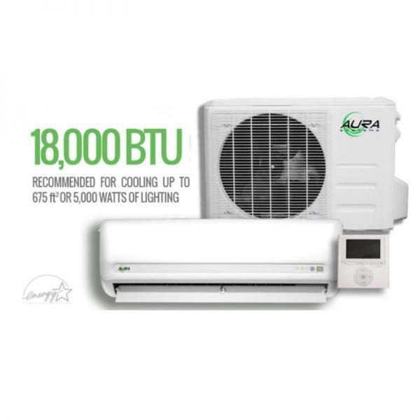 Aura Systems Mini Split Air Conditioner 18000 BTU