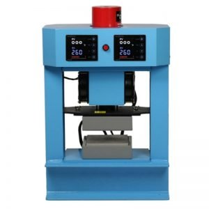 Bubble Magic 5in x 5in Manual-Hydraulic Press Front