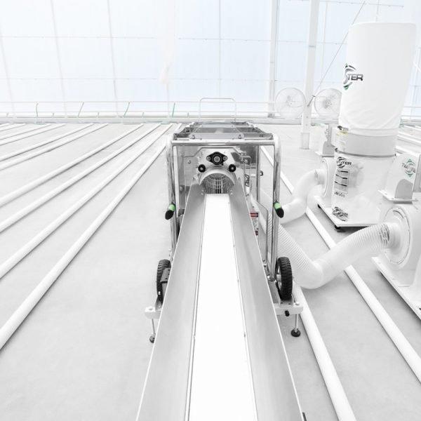 Twister feed Conveyor