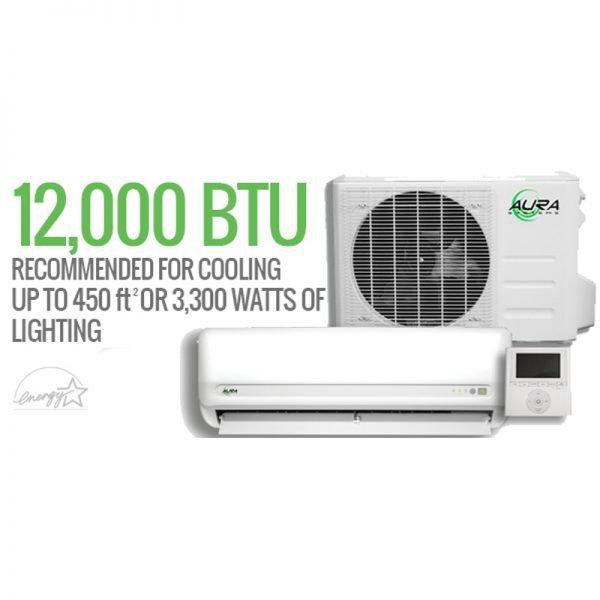 Aura Systems 12,000 BTU Mini-Split Air Coniditoner