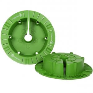 FloraFlex Round Flood & Drip Shield - Quicker Dripper