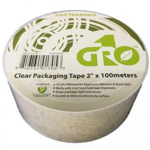 gro1 clear packaging Tape