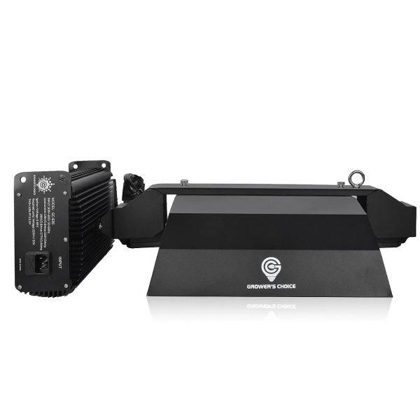 GROWER'S CHOICE 630W CMH Reflector Ballast Light Kit Back