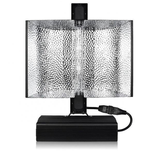GROWER'S CHOICE 630W CMH Reflector Ballast Light Kit Bulb View