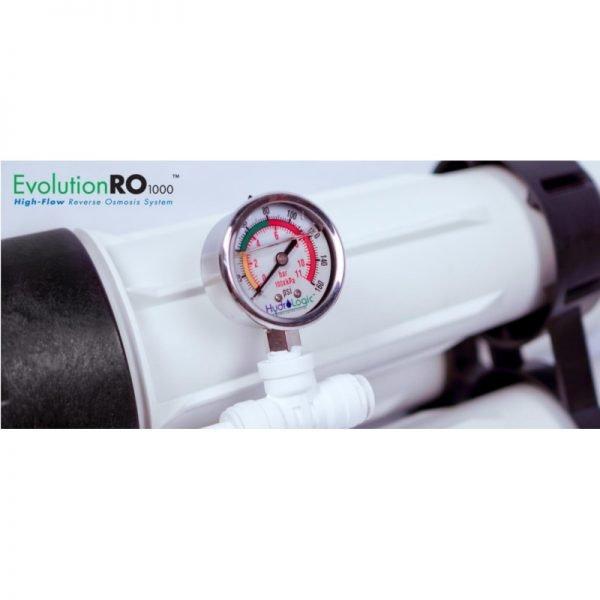 HydroLogic Evolution RO1000 Gage