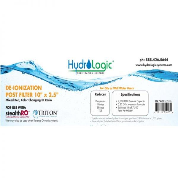 HydroLogic KDF85 10 Inch Filter