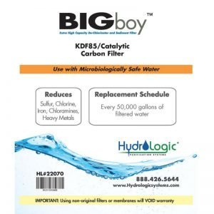 HydroLogic KDF85 Big Boy Filter Promo