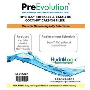 HydroLogic KDF85 PreEvolution Promo