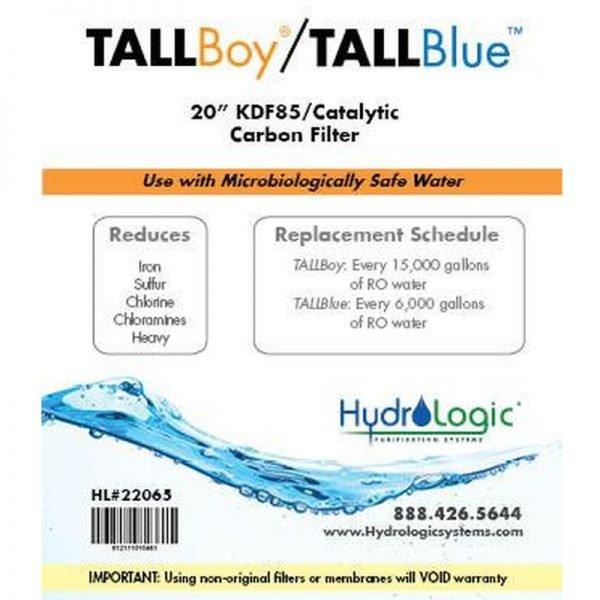 HydroLogic KDF85 Tall Boy Promo