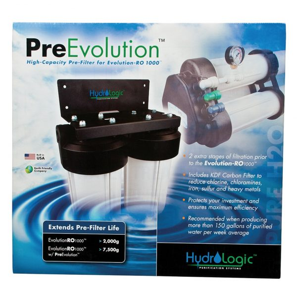 HydroLogic Pre-Evolution Pre-Filter for the Evolution RO1000 System Box