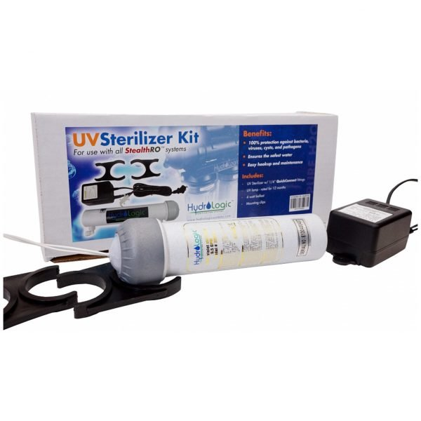 HydroLogic Stealth RO100:200 UV Sterilizer Kit, 1:2 gpm