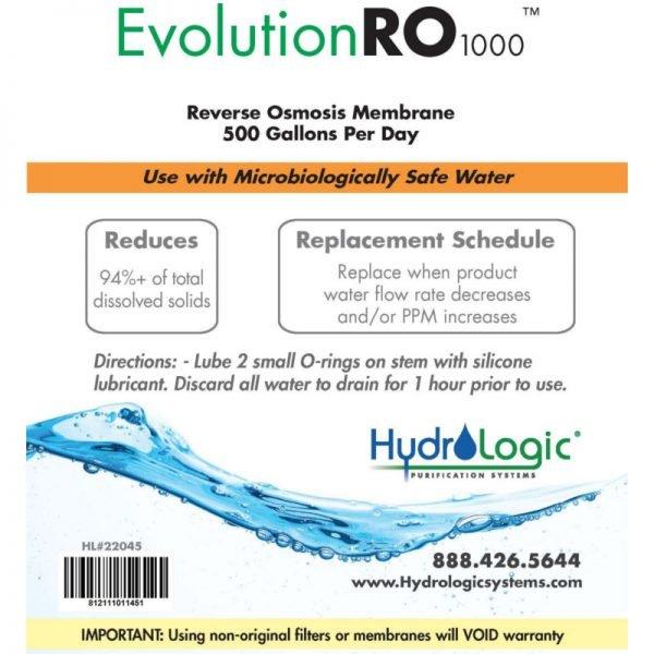 Hydrologic Evolution Membrane Promo