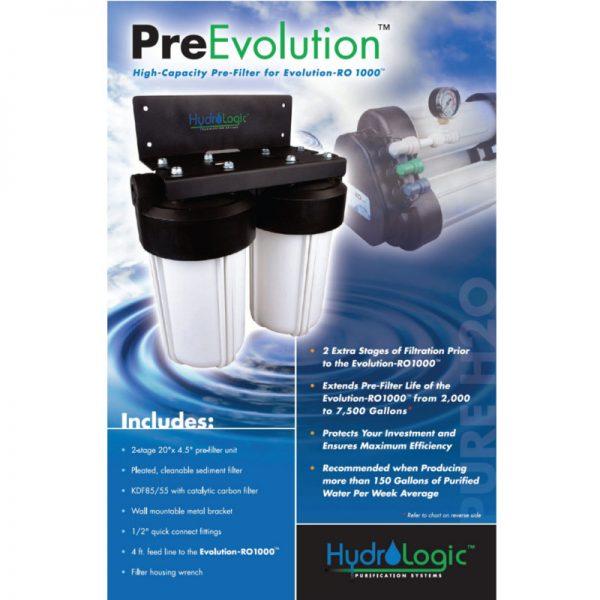 Hydrologic PreEvolution Pre Filter Promo