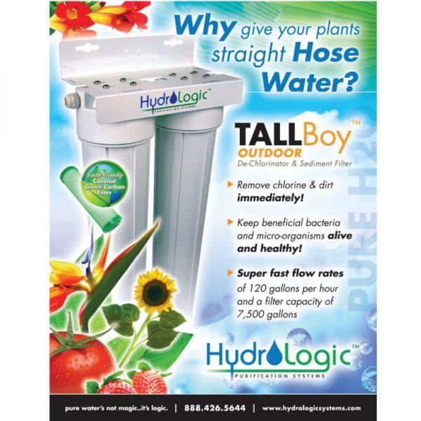 Hydrologic Tall Boy De-Chlorinator Promo