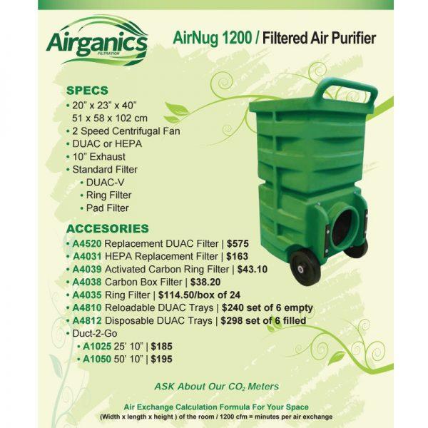 Airganics Airnug 1200 Air Purifier