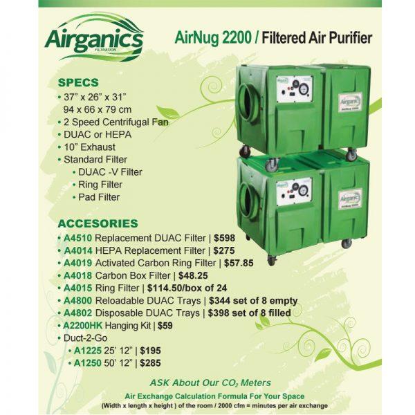 Airganics Airnug 2200