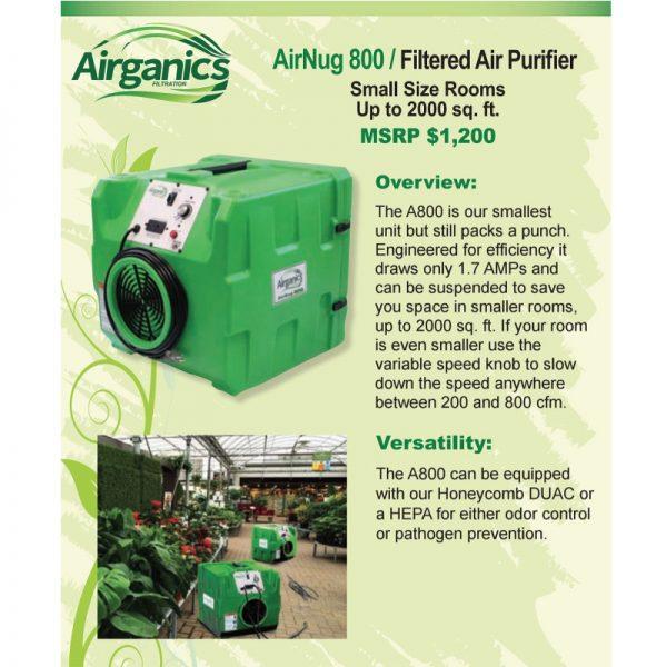 Airganics Airnug 800