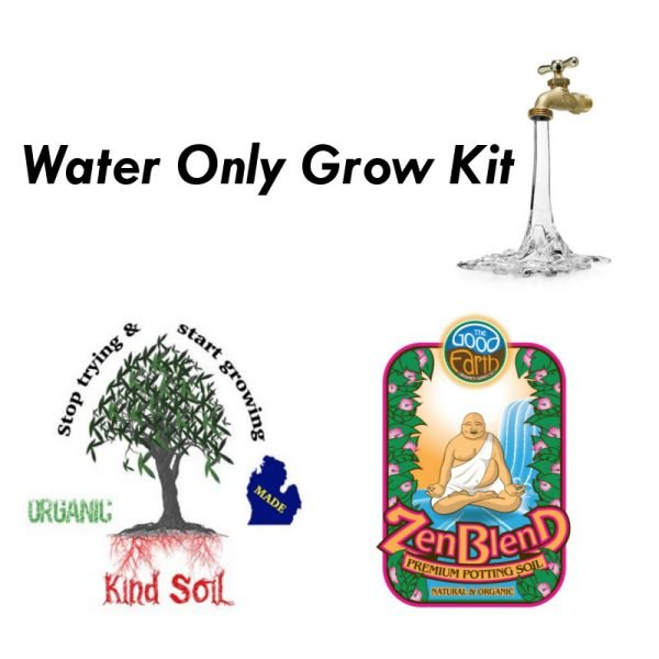 Kind Soil Zen Blend Water Only Grow Kit