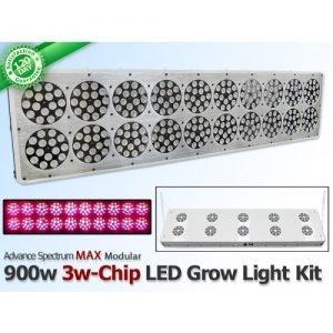 S900 Advance Spectrum MAX LED Grow Light Panel